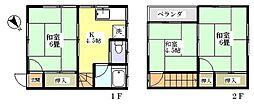[テラスハウス] 埼玉県川口市柳根町 の賃貸【/】の間取り