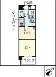 K'sガーデン[2階]の間取り