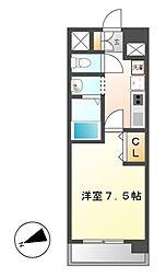 ASレジデンス千代田[11階]の間取り