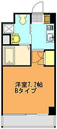 リバティゲート[207号室]の間取り