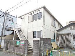三重県松阪市平生町の賃貸アパートの外観