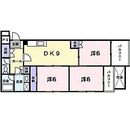 メゾン351[2階]の間取り