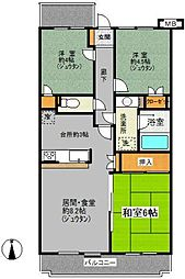 東戸塚パークホームズ(ヒガシトツカパークホームズ)[3階]の間取り