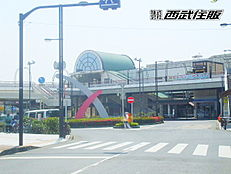 JR青梅線「小作」駅まで徒歩20分