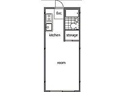 キーウィハウス小金井[1階]の間取り
