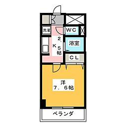 エスポアール八雲 B棟[3階]の間取り