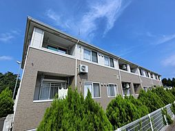 千葉県八街市八街への賃貸アパートの外観
