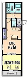 グレイスコート武蔵野[2階]の間取り