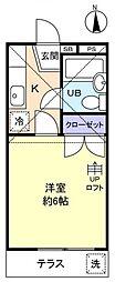 メゾンISHIDA[1階]の間取り
