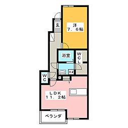 linda casa[1階]の間取り