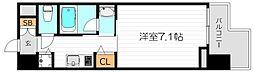 エイペックス梅田東II[2階]の間取り