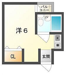 大阪府守口市文園町の賃貸アパートの間取り