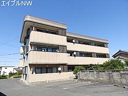 三重県松阪市嬉野中川町の賃貸マンションの外観