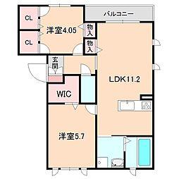 [タウンハウス] 大阪府豊中市中桜塚2丁目 の賃貸【/】の間取り
