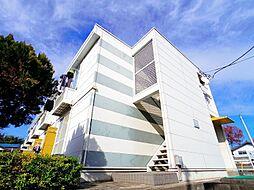 埼玉県所沢市大字坂之下の賃貸アパートの外観