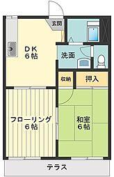 ファミール88[1階]の間取り
