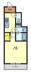 ファシルカワト2[2階]の間取り