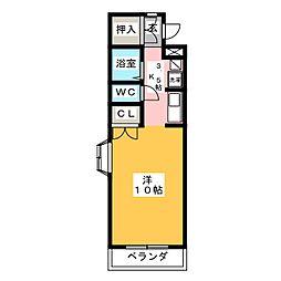 ハイツ アプリコット[2階]の間取り