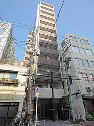 レジュールアッシュ大阪城WEST[8階]の外観