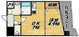 イル・パラッツォ・デル・ソーレ[9階]の間取り