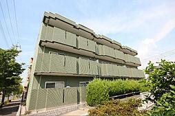 愛知県名古屋市中川区万場4丁目の賃貸アパートの外観