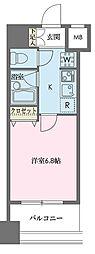ドゥーエ新川[0706号室]の間取り