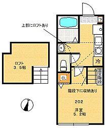 A-Flat[2階]の間取り