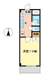 明治館[4階]の間取り