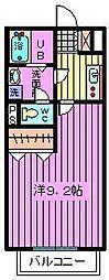 埼玉県さいたま市見沼区大和田町の賃貸アパートの間取り