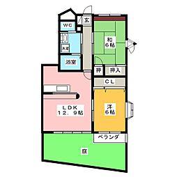 ハイステージ五反田 B棟[1階]の間取り