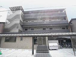 京都府京都市上京区白竹町の賃貸マンションの外観