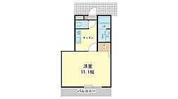 兵庫県姫路市北今宿2丁目の賃貸マンションの間取り