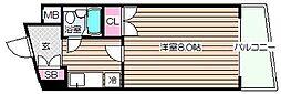 豊崎ハイツ[2階]の間取り