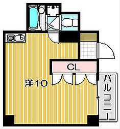 マンションナカムラ[1階]の間取り