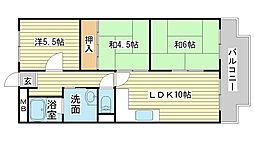 シャトー司[D-5号室]の間取り