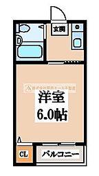 ミドウスジ堺[3階]の間取り