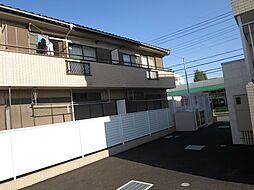 東京都調布市染地1丁目の賃貸アパートの外観