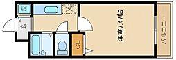 サンリゾート21[2階]の間取り