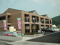 岡山県倉敷市吉岡丁目なしの賃貸アパートの外観