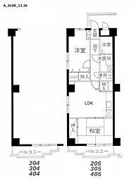 MAISON DE山田[105号室]の間取り