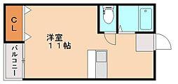 ロイヤルパレス井尻壱番館[2階]の間取り