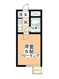 クリオ毛呂山壱番館[211号室]の間取り