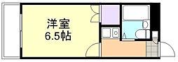 ウイング倉敷[313号室]の間取り