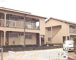 福岡県糸島市前原東2丁目の賃貸アパートの外観