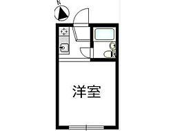 ヨコタハイム[2階]の間取り