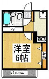 カメリア[2階]の間取り
