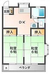 セジュール・タカハシ2[2階]の間取り