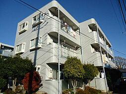 東京都日野市大坂上3丁目の賃貸マンションの外観