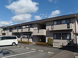 愛知県岡崎市赤渋町字西河原の賃貸アパートの外観