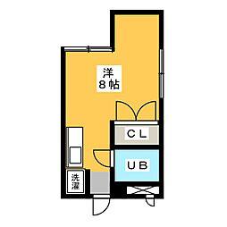 YOSHIHARU  BLD[3階]の間取り